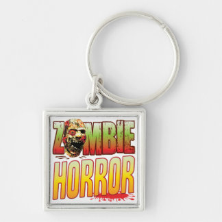 Horror Zombie Head Key Chains