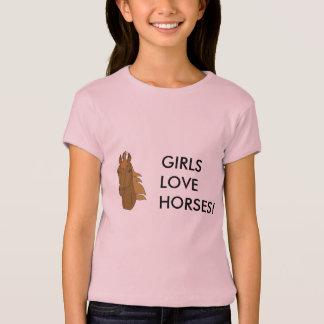horse1, GIRLS LOVE HORSES! T-Shirt