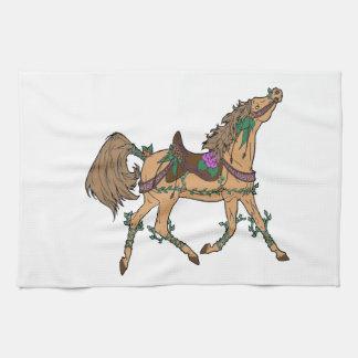 Horse 2 tea towel