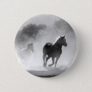horse-430441 6 cm round badge