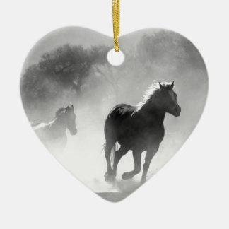 horse-430441 ceramic ornament