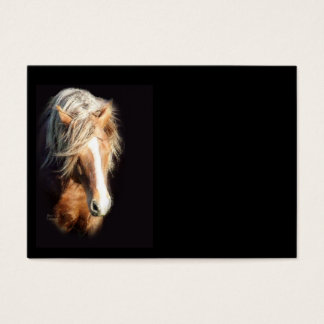 Horse Against Black Business Card
