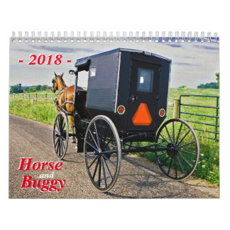 Horse And Buggy Wall Calendars