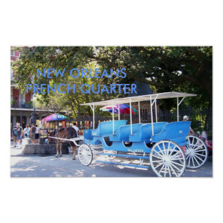 Horse and Carriage New Orleans French Quarter Posters
