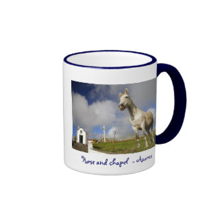 Horse and chapel ringer mug