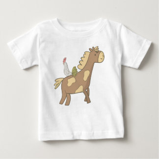 Horse and cock baby T-Shirt