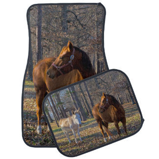 Horse and Donkey Car Mats Car Mat