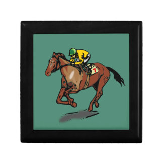 Horse and Jockey Gift Box