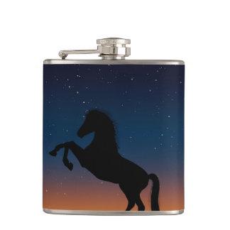 Horse Animal Nature Hip Flask