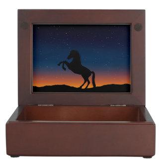 Horse Animal Nature Keepsake Box