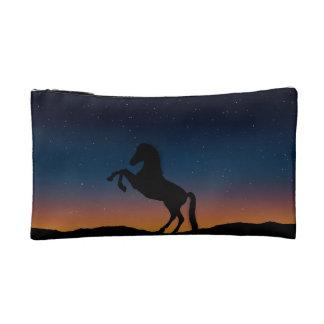 Horse Animal Nature Makeup Bag