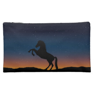 Horse Animal Nature Makeup Bag