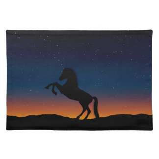 Horse Animal Nature Placemat