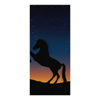 Horse Animal Nature Rack Card