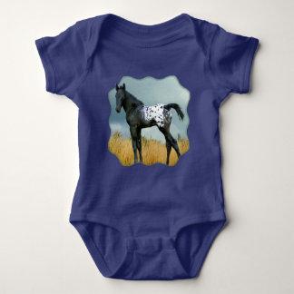 Horse - Appaloosa Colt Baby Jersey Bodysuit