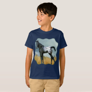 Horse - Appaloosa Colt Kid's T-shirt