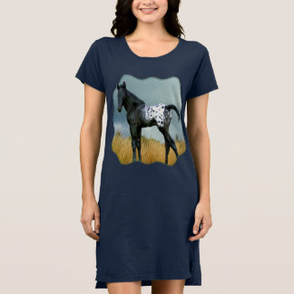 Horse - Appaloosa Colt T-shirt Dress