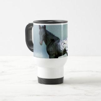 Horse - Appaloosa Colt Travel Mug