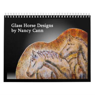 Horse art calendar