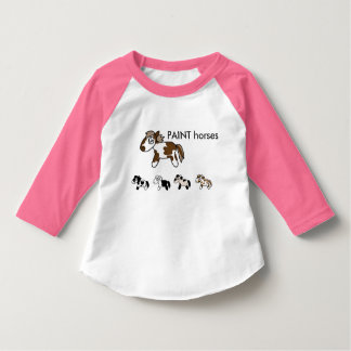 horse art for  Babyes and cuties! T-Shirt