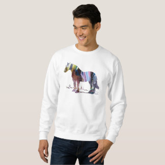 Horse art sweatshirt