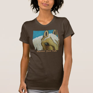 Horse Art t-shirt by Leslie Anne Webb