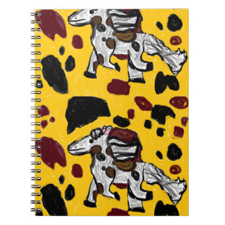 horse art two notebook