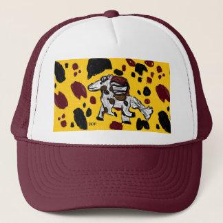 horse art two trucker hat