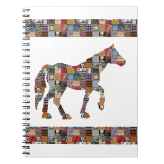 HORSE Artistic Collection Patches FUN NVN477 gifts Note Books