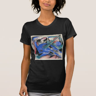 Horse Asleep by Franz Marc T-Shirt