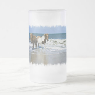 Horse Beach Frosted Mug