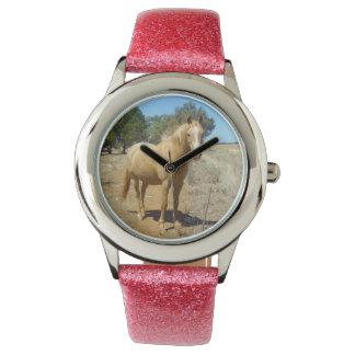 Horse Beauty, Girls Glitter Watch. Watch