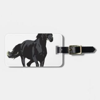 Horse - Black Stallion Tags For Luggage
