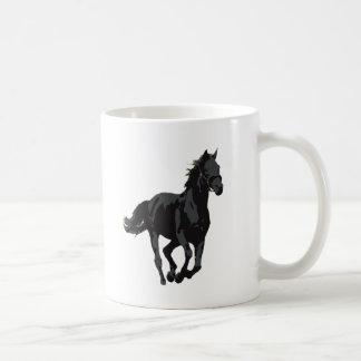 Horse - Black Stallion Mug