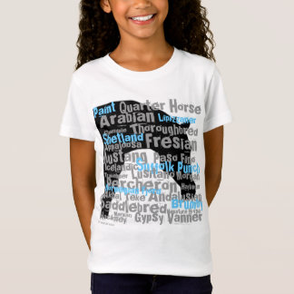 """Horse Breeds"" youth T T-Shirt"