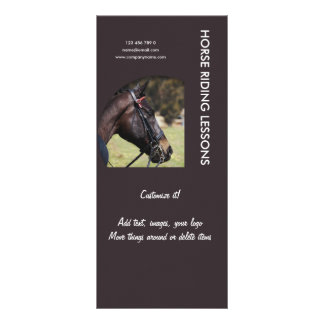 Horse business marketing rack cards