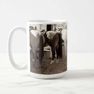 Horse Butts Coffee Mug