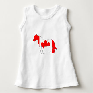 Horse Canada Dress