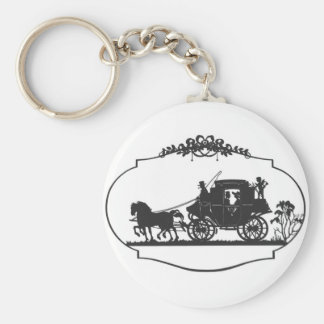horse carriageb key ring