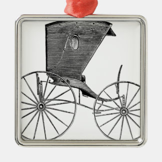 horse-carriages-3-hundred years.jpg Silver-Colored square decoration
