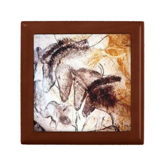 Horse Cave Painting Jewelry Keepsake Box