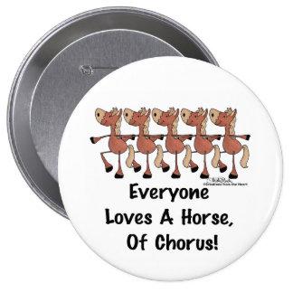 Horse Chorus Line Button