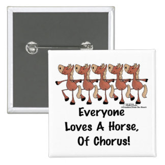 Horse Chorus Line Pin