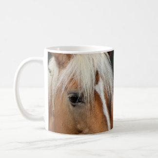 Horse close up coffee mug
