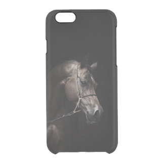 horse collection. arabian bay clear iPhone 6/6S case