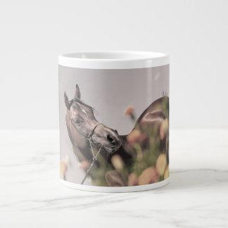 horse collection. arabian bay large coffee mug
