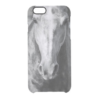 horse collection. arabian clear iPhone 6/6S case