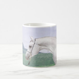 horse collection. arabian coffee mug