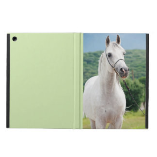 horse collection. arabian white cover for iPad air