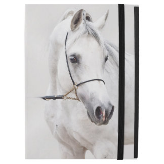 "horse collection. arabian white iPad pro 12.9"" case"